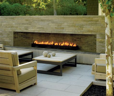 modern outdoor fireplace contemporary patio san francisco by california home design