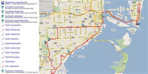 of florida cus map pdf miami historic city tour plus biscayne bay boat cruise