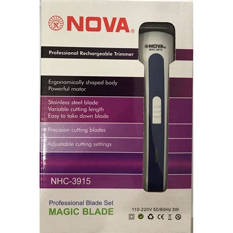 aparador nova aparador barbeador el 233 trico nova nhc 3915
