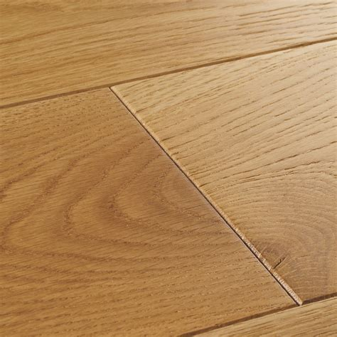 York Select Oak Brushed & Lacquered Flooring   Woodpecker