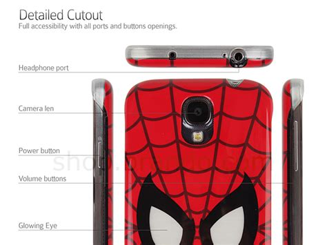 Casing Samsung S4 Spiderman4 Custom Hardcase samsung galaxy s4 marvel spider beam