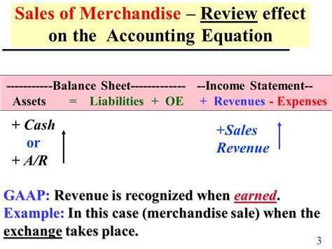 Credit Sales Accounting Formula Merchandise Accounting Ppt