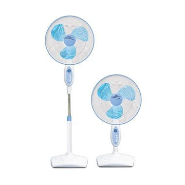 jual maspion stand fan 2in1 ex 167 s kipas angin 16 inch