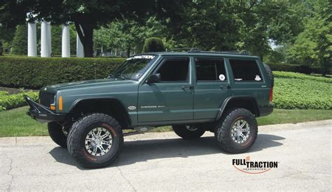 jeep xj stock full traction suspension lift kits and accessories for