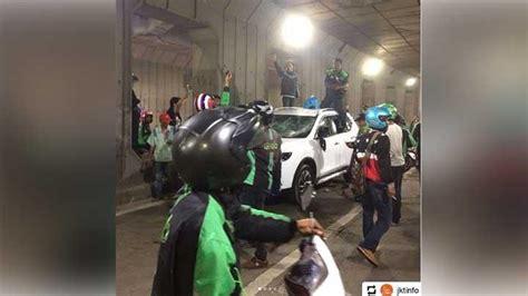 Klakson Mobil X Trail pengrusakan ojek vs mobil gara gara klakson metro tempo co