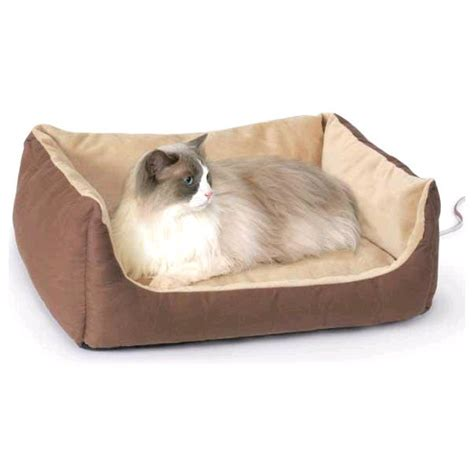Cats Beds by Large Heated Cat Bed Nipandbones