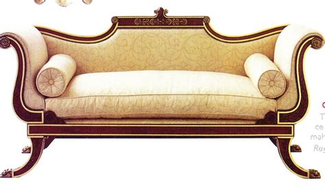 period style sofas spotting a regency piece of furniture to work within your