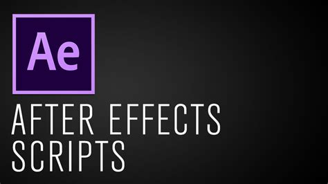 motion graphics workflow 5 after effects scripts to speed up your motion graphics