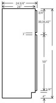Kitchen Pantry Cabinet Sizes Dimension Na