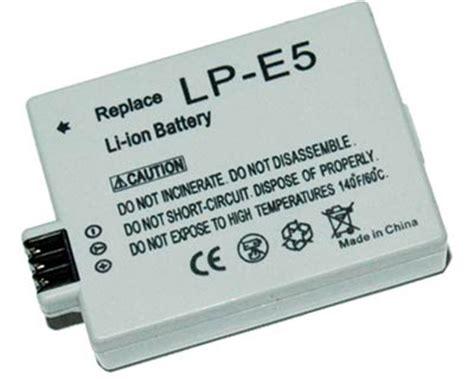 Battery Canon Lp E5 Original Berkualitas canon lp e5 rechargeable lithium ion battery pack