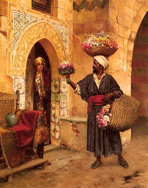 Peinture Ottomane by File Ernst Rudolf Le Marchand De Fleurs Jpg Wikimedia