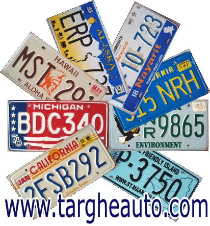 automobilistiche americane targheauto targhe automobilistiche targhe americane