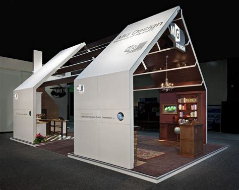 booth design winner this was mg design s mansion of mystery exhibit at