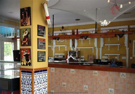 acheter bar cuisine malaga algarrobo costa bar restaurant fonds de