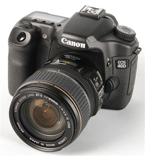 canon 40d canon eos 40d digital slr review