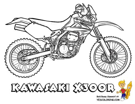 motorcycle coloring pages pdf motorbike coloring pages motorbike free motorbike