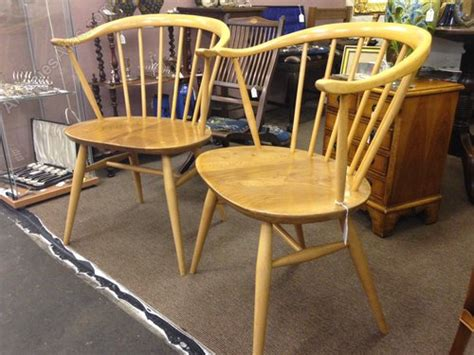 Bs 1960 Furniture by Antiques Atlas 2 Superb Ercol Cowhorn Chairs C