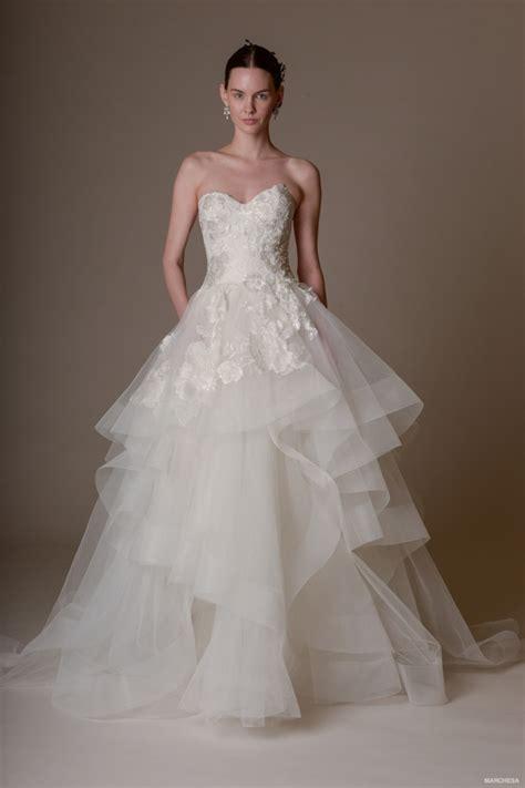 2016 wedding dress trends spring marchesa 2016 spring summer wedding dresses