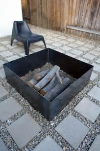 Contemporary Firepit 10 Easy Diy Backyard Pit Ideas