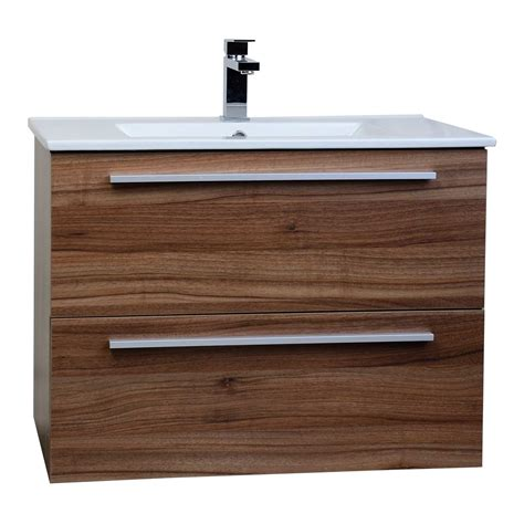 Modern Walnut Bathroom Vanity Buy Nola 29 5 Quot Wall Mount Modern Bathroom Vanity Walnut Tn T750c Wn On Conceptbaths Free