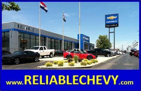 reliable chevrolet mo car dealership  springfield mo
