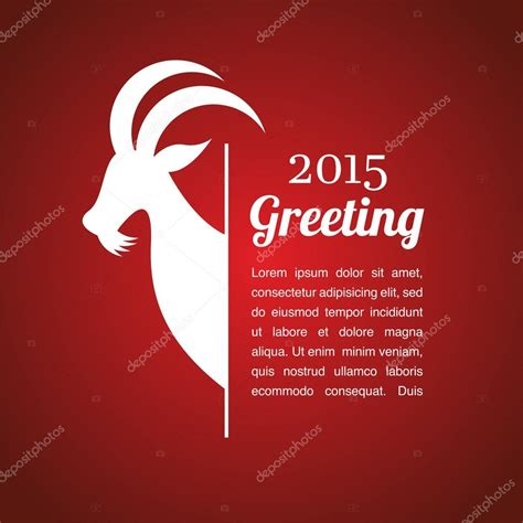 new year of the goat 2015 vector new year of the goat 2015 stock vector 169 lipmic