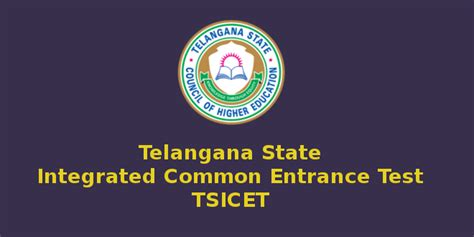 Entrance For Integrated Mba by Telangana Icet 2017 On May 18