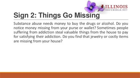 7 Signs You An Addiction Problem by 7 Signs That Your Loved One Has A Substance Abuse Problem
