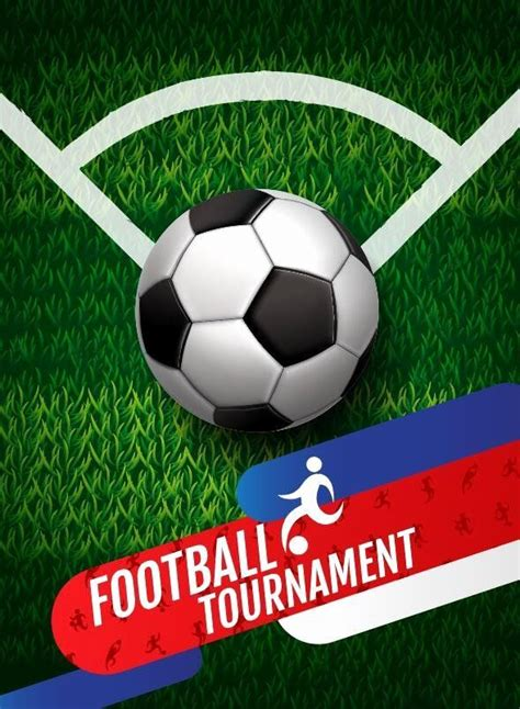 football tournament poster template  awesome football