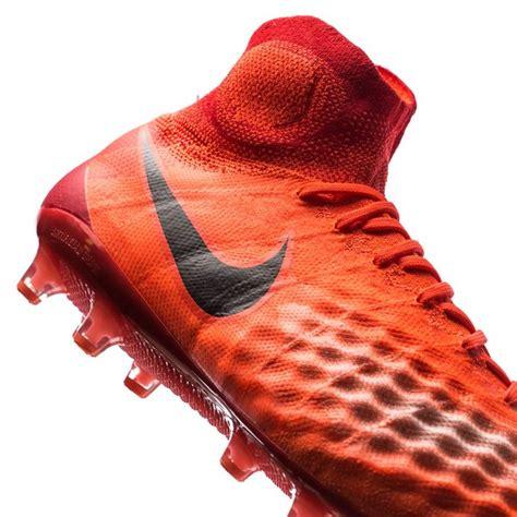 Sepatu Soccer Nike Magista Obra Ii Radiation Flare nike magista obra ii ag pro radiation flare total crimson black www unisportstore