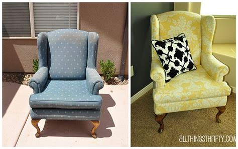 reupholster armchair tutorial how to reupholster a wingback chair diy projects