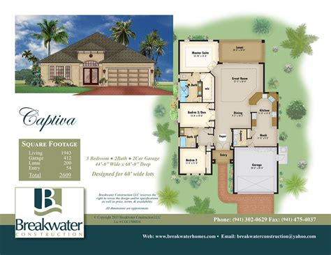 home builder plans color floor plan and brochure sles on behance