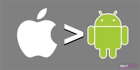 is android better than apple one reason why ios is better than android