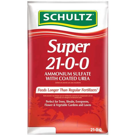 Home Depot Window Blinds Schultz 15 Lb Super 21 0 0 Ammonium Sulfate With Coated