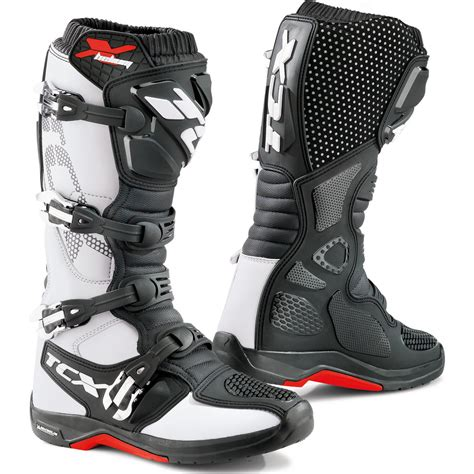 hinged motocross boots tcx x helium michelin motocross boots dirt bike mx leather