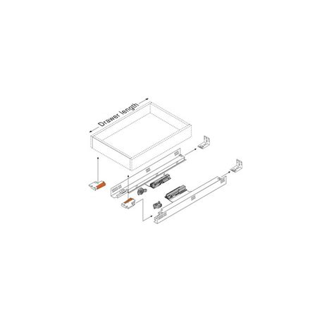 blum undermount drawer slides price blum 562h4570c 18in tandem 562h full ext drawer slide for