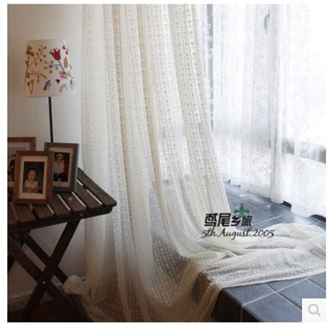 beige lace sheer curtain with solid bedroom curtain 270cm 2015 high quality american country style bar lace