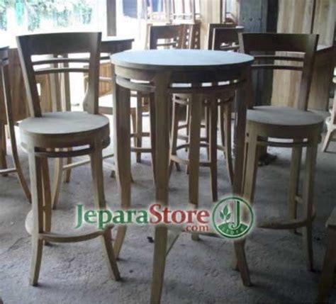 Kursi Bar Bulat kursi bar bundar jepara store toko mebel pusat furniture jati jepara berkualitas