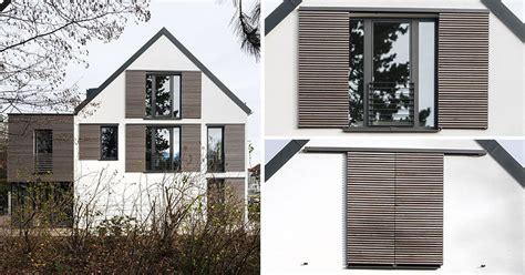 house window shutters this house is an exle of how to do modern window shutters contemporist