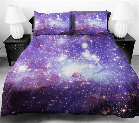 fantastic 3d galaxy bedding sets stylish