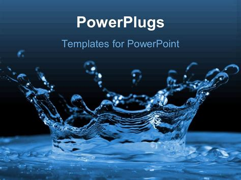 powerpoint themes water free download powerpoint template water ripples and water drops