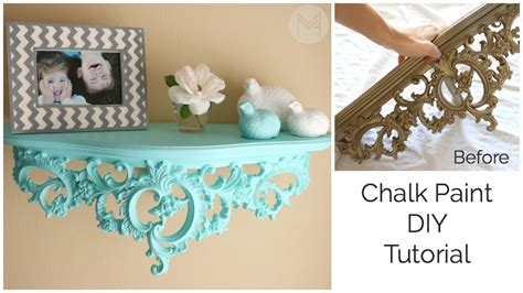 how to do chalk paint diy chalk paint diy tutorial