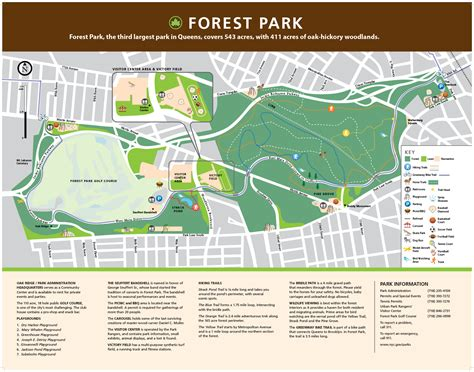 forest park map home forest and highland park the forest park trust