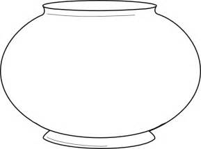 fish bowl outline clipart best