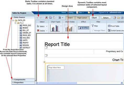 layout editor in oracle forms creating bi publisher layout templates
