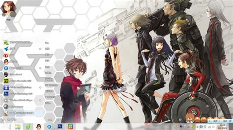 download theme windows 7 guilty crown theme win 7 guilty crown
