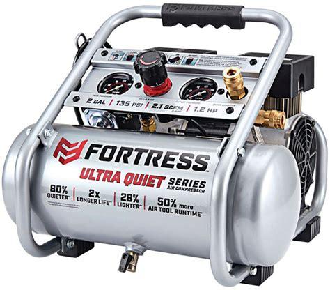 ultra quiet harbor freight fortress air compressor
