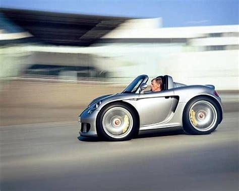 funny small cars smart car custom bodykits too funny porsche convertible