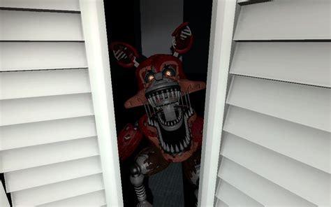 Nightmare In Closet by Fnaf 4 Gmod Nightmare Foxy In Ur Closet By