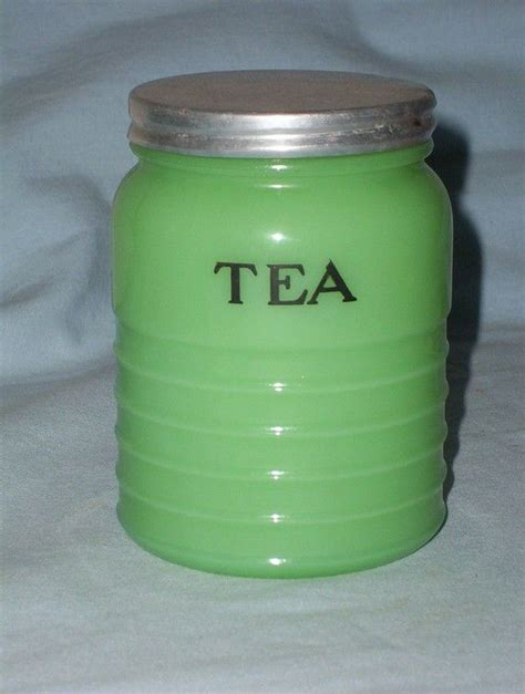 Green Deco Canister 25 best ideas about vintage canisters on